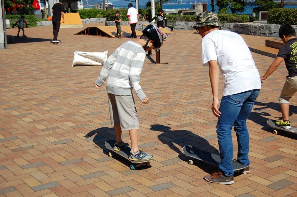 スケートボード体験(今治港)