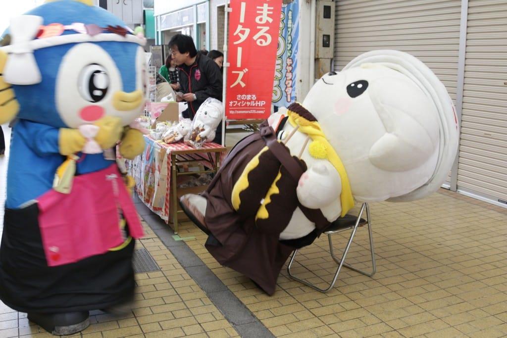 栃木県佐野市のゆるキャラさのまる