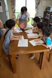 料理教室風景_子供たち
