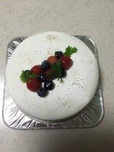 レア・チーズ・ケーキ