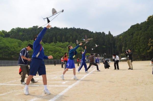 二宮忠八翁飛行記念大会 競技