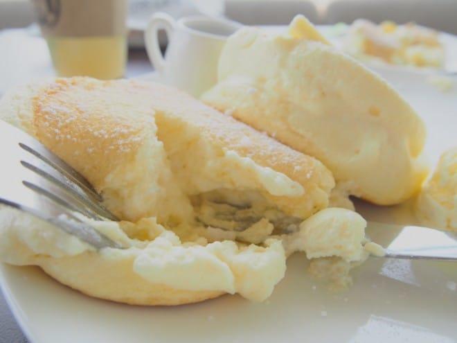 スフレパンケーキ2