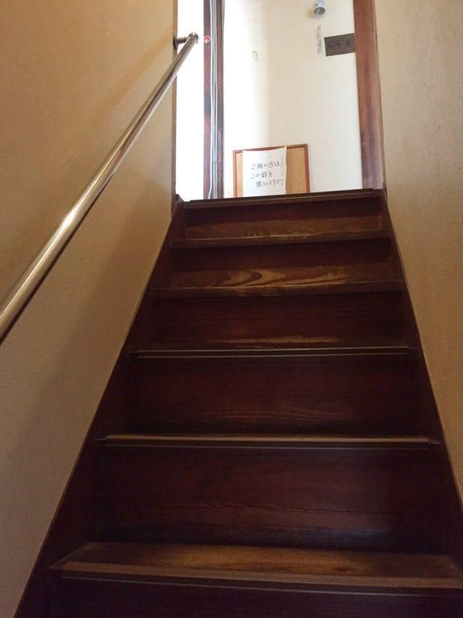 階段/城山カフェ