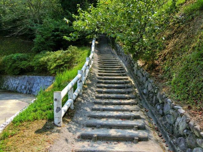 遊歩道/朝倉緑のふるさと公園