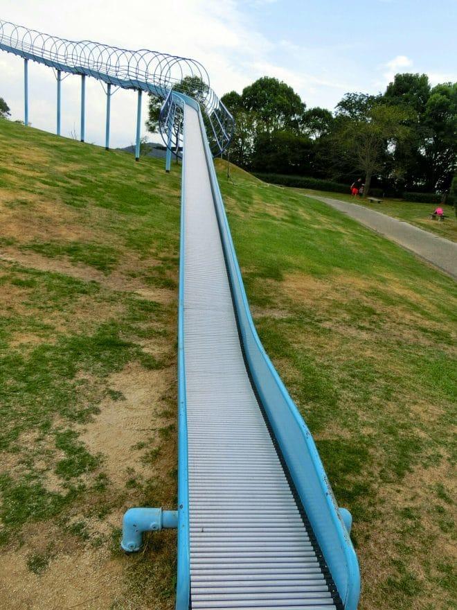 長い滑り台/波方公園