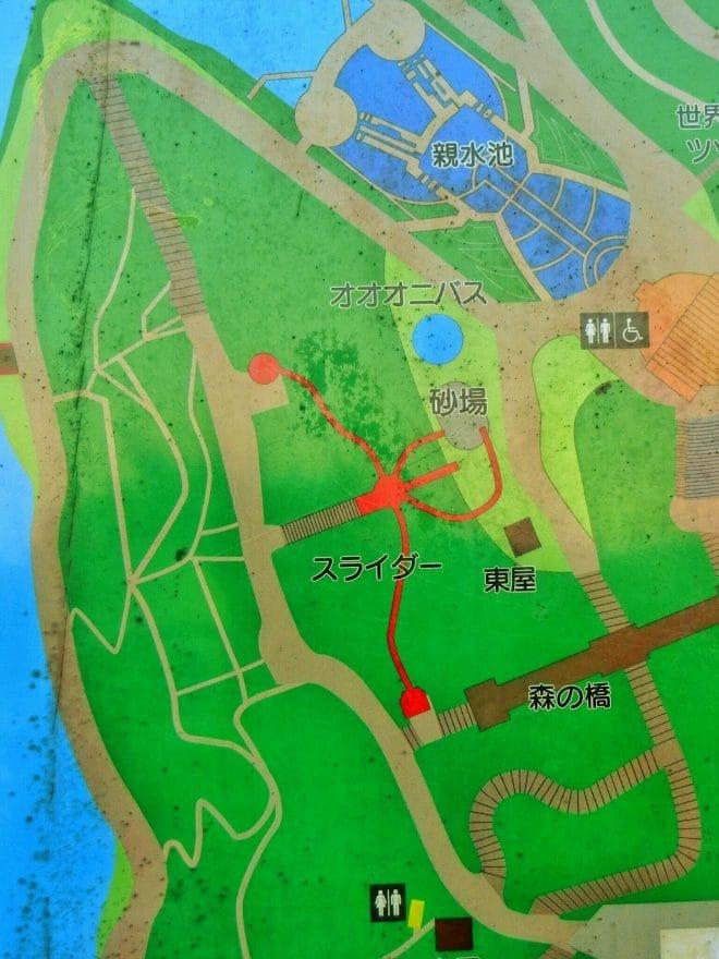公園図/市民の森公園