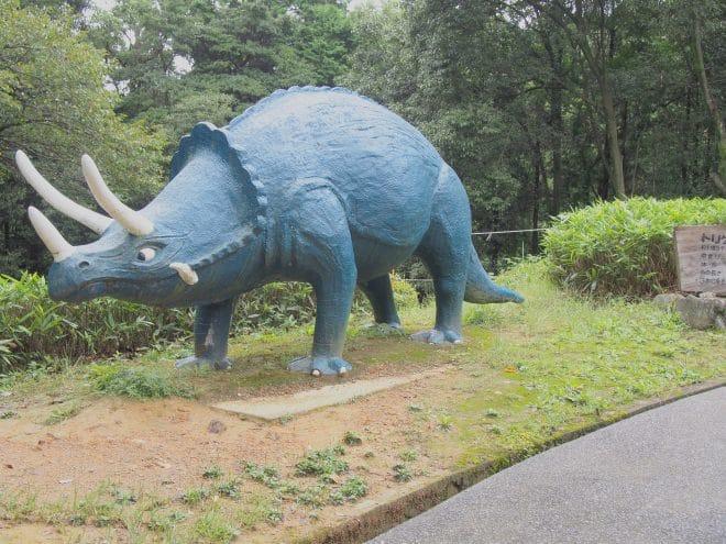 三島公園トリケラトプス