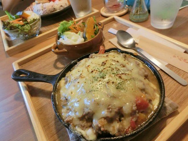 鉄板チーズカレー