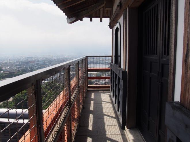 川之江城4階展望台3