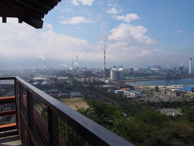 川之江城4階展望台4