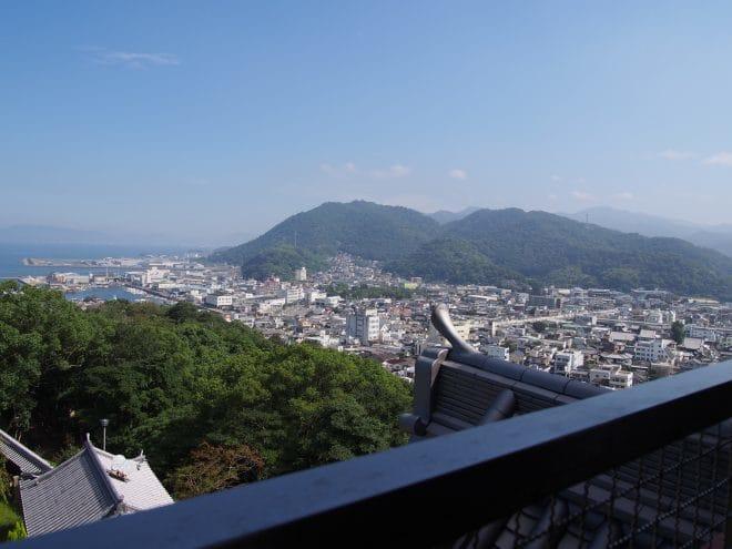 川之江城4階展望台5