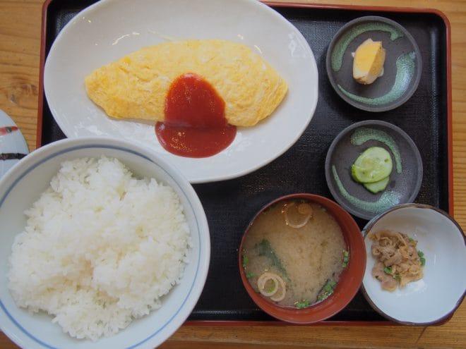 熊福オムレツ定食1