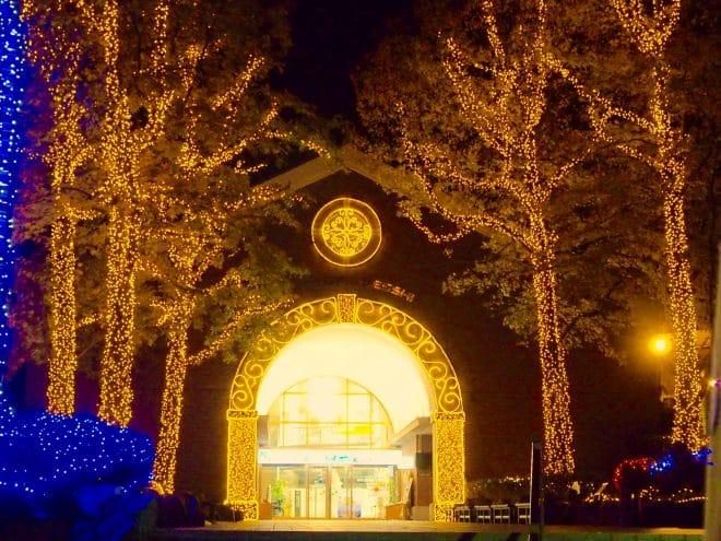 マイントピア別子_愛媛県イルミネーション2016