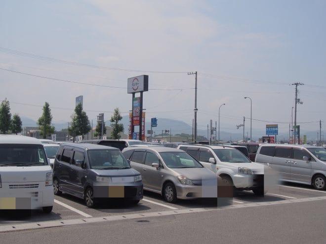芯せかい駐車場2