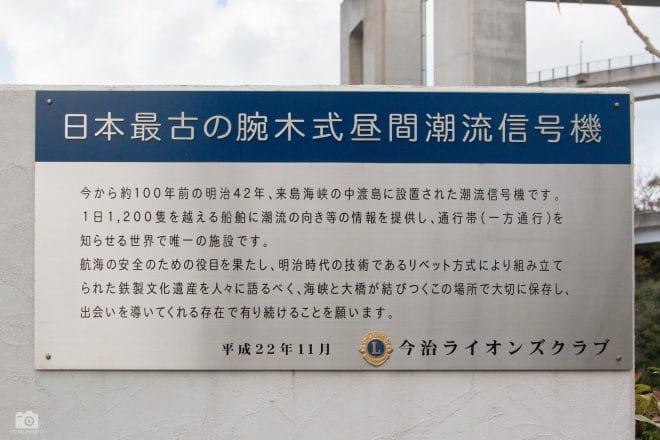 サンライズ糸山・腕木式潮流信号機看板