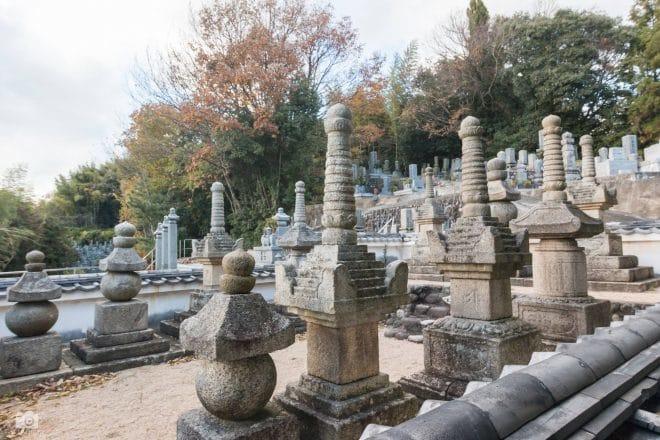 乗禅寺の11基石塔