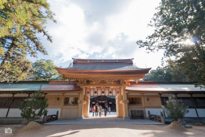 大山祇神社の門
