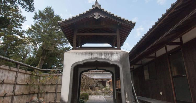 高龍寺入口