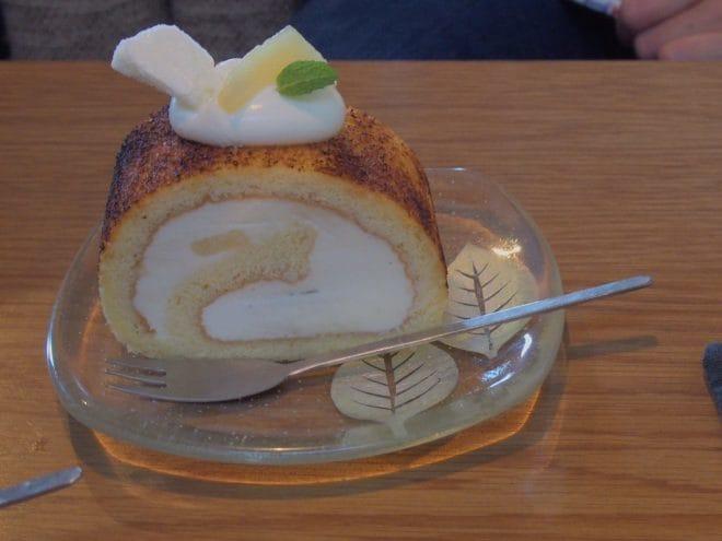 そらしと珈琲ロールケーキ2