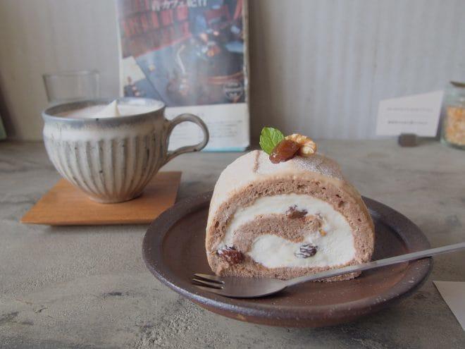 そらしと珈琲ロールケーキ1
