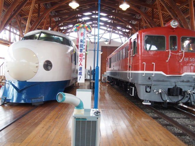 四国鉄道文化館内観写真1