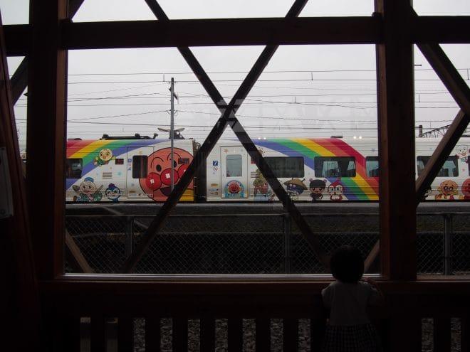 四国鉄道文化館アンパンマン列車1