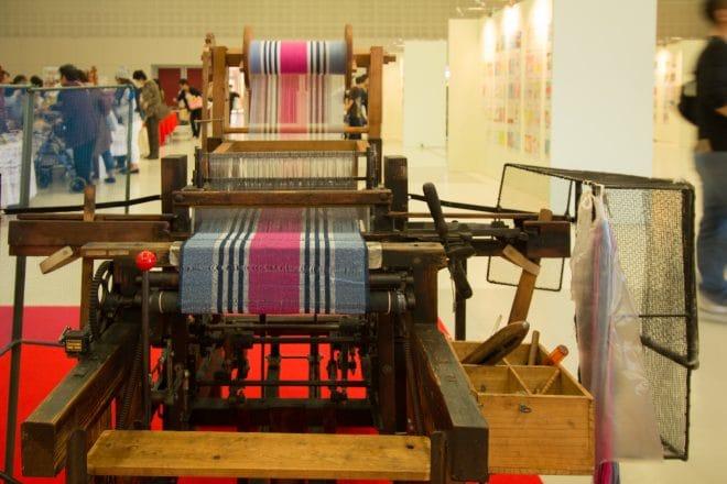 機織りコーナー2