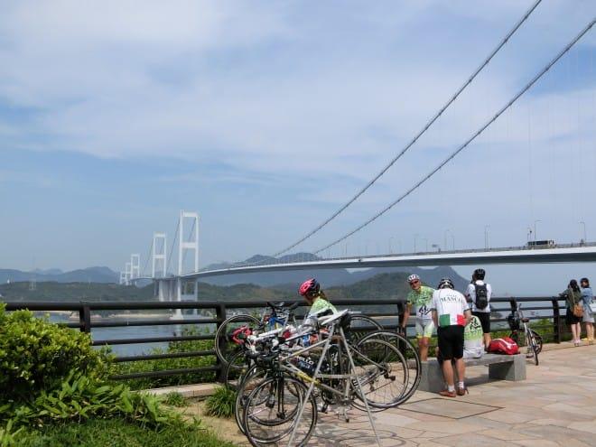 サイクリストと糸山公園