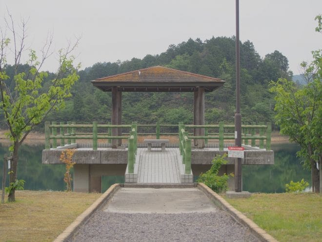 池田池公園出島1
