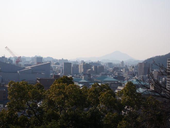 道後公園展望台からの眺め1