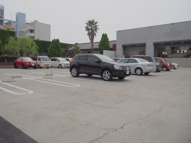 NORTHSHORE駐車場1