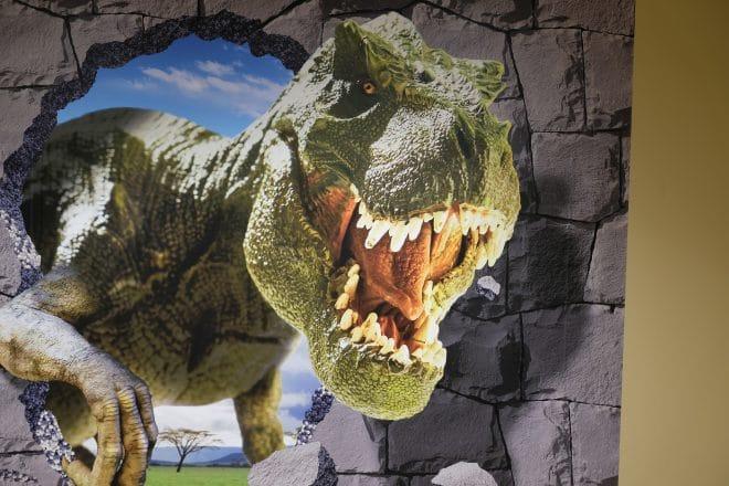 大恐竜王国3Dパネル