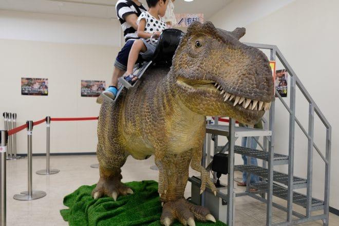 動く乗り物恐竜2