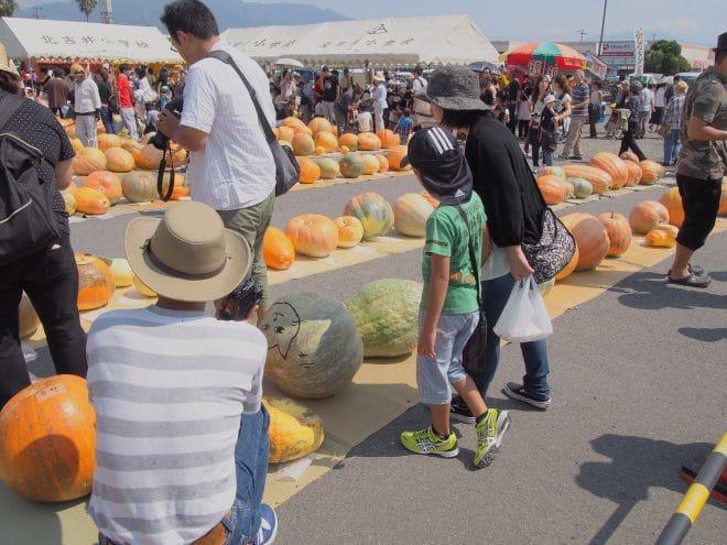 どてかぼちゃカーニバルの様子3