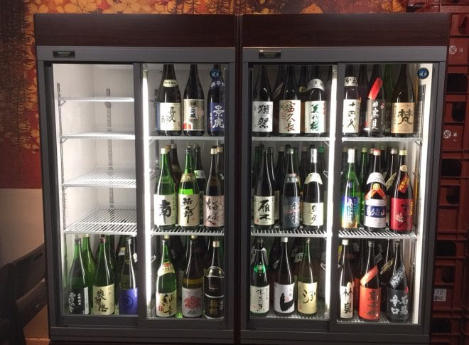 花咲か爺屋陽なた三番町店の日本酒一覧