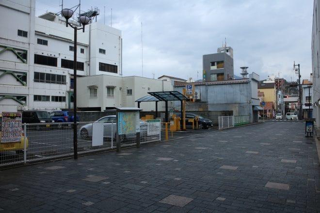 宇和島城駐車場