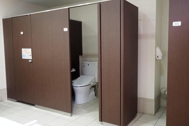 てくるん_女性用トイレ