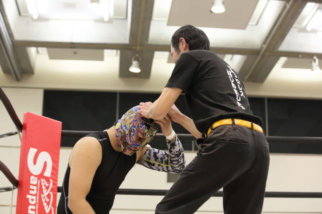 第0試合KOSHI VS 肱川嵐 ①