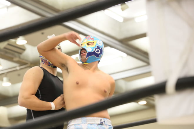 第0試合 KOSHI VS 肱川嵐 ②