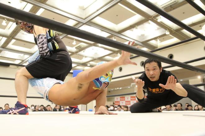 第0試合 KOSHI VS 肱川嵐 ③