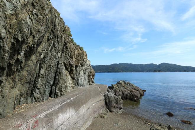 海と地層1