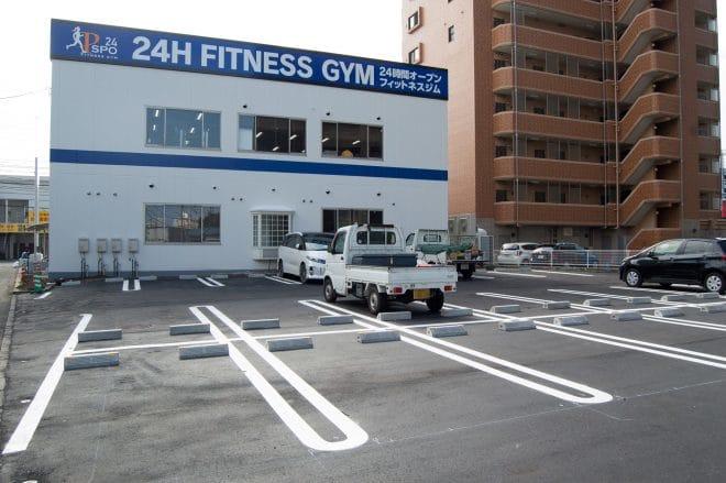 Pspo24無料駐車場