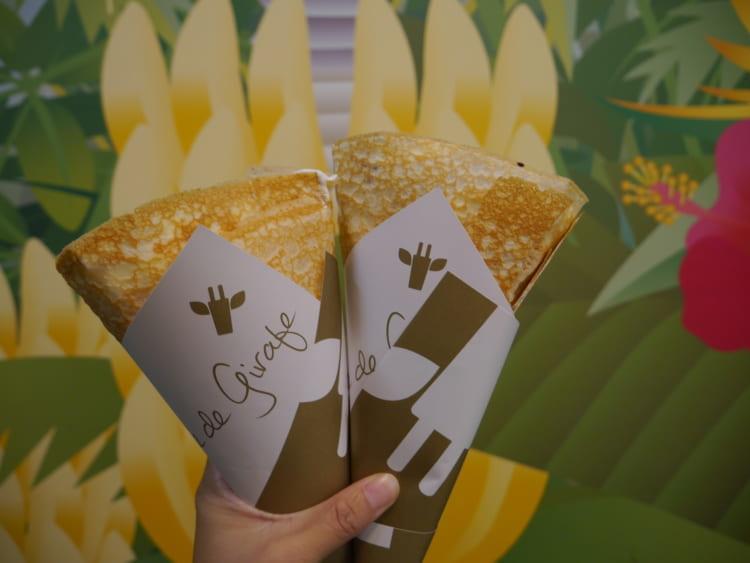 girafecrepe クレープと壁紙