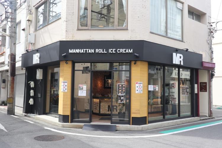 マンハッタンロールアイスクリーム 外観