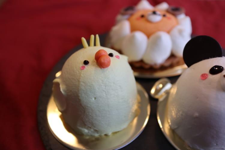 カトルセゾン菓子夢-どうぶつさんケーキ ひよこ