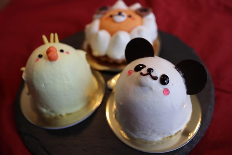 カトルセゾン菓子夢-どうぶつさんケーキ-パンダ