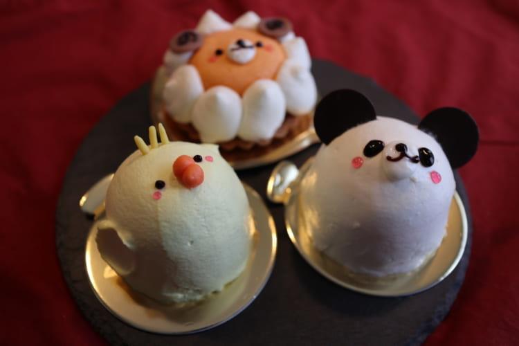 カトルセゾン菓子夢-どうぶつさんケーキ-