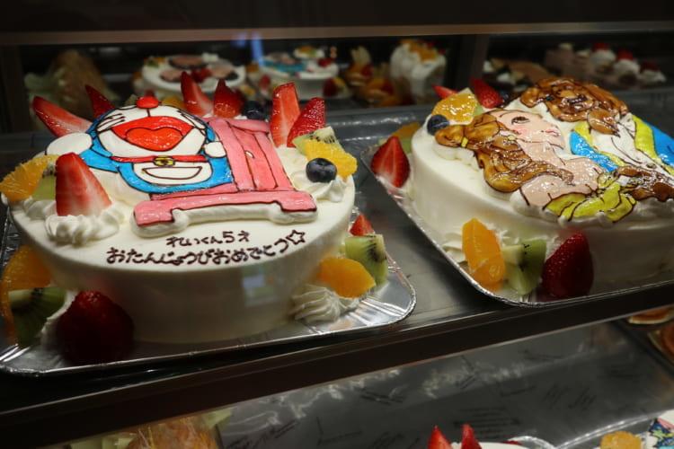 カトルセゾン菓子夢 オーダーケーキメニュー
