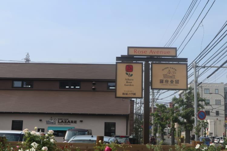「ROSE CAFE 羅座亜留竹原」(ローズカフェ ラザール竹原)