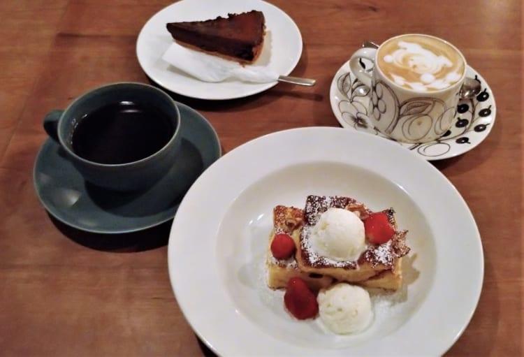 cafebc フレンチトーストセット